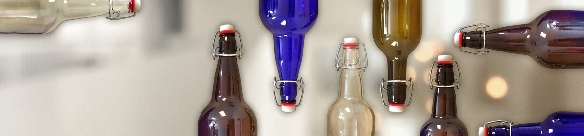 E.Z.Cap Swing Top Bottles